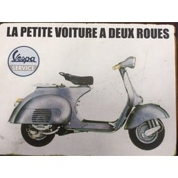 Scooter Specialist N.I. Rustic Vespa Signs (Vespa Service)