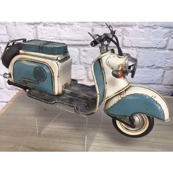 Scooter Specialist N.I. Classic Vespa model, Teal and White
