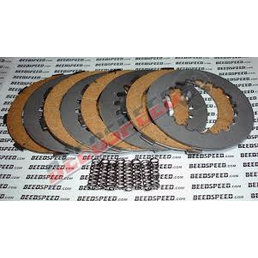 Scooter Specialist N.I. Clutch 4 Plate Set; Cork Steel Plates and Springs  (PX125/PX200)