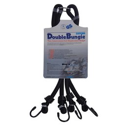 Double bungie strap system: 24''/600mm