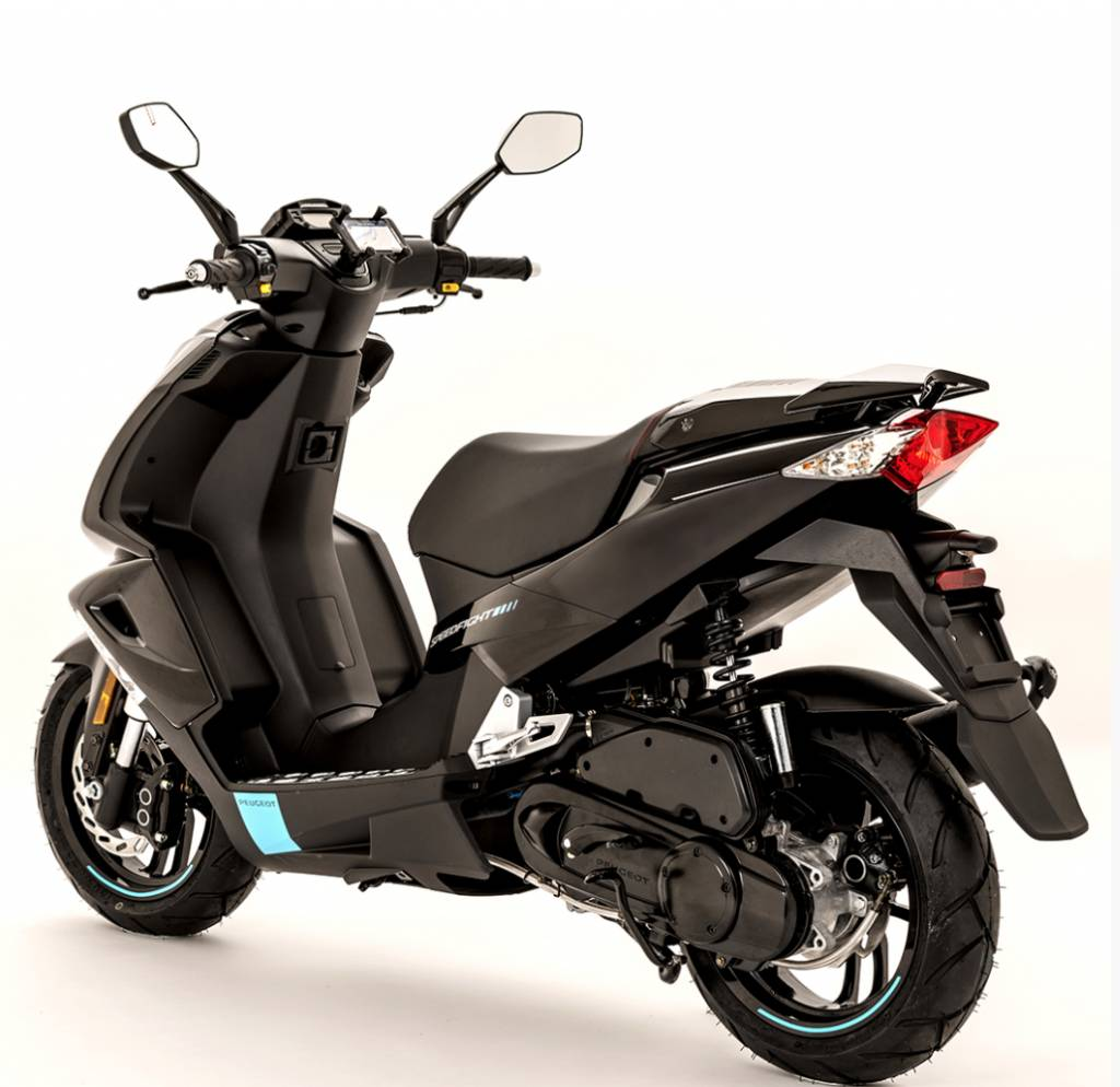 peugeot speedfight 4 50cc darkside scooter specialist n i. Black Bedroom Furniture Sets. Home Design Ideas
