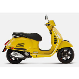 Vespa GTS Supersport 300 ABS matt yellow