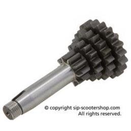 Piaggio gear shaft assembly gts 125