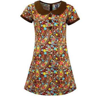Madcap England Dollierocker Paisley Retro Dress
