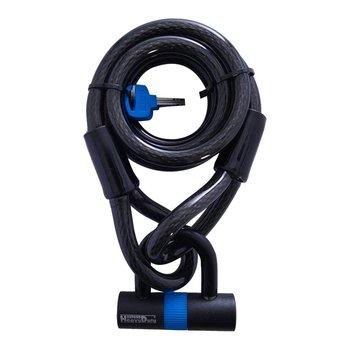 Loop Lock Cable lock + Mini Shackle 15mm x 1.8mtr
