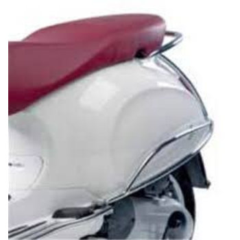 Chrome Plated Rear Side Protection Bars - Primavera - Like New