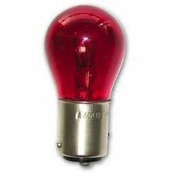 Bulb Rear Light Stop/Tail - 12V 21W  Red   BIN 272