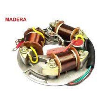 6v Stator Plate, wth 3 coils, Vespa w/o battery