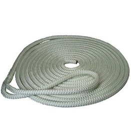 English Braids Fastlines Mooring Line, White, 14mm x 12m