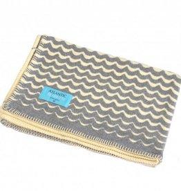 Atlantic Blankets Grey Swell Blanket 75x100cm