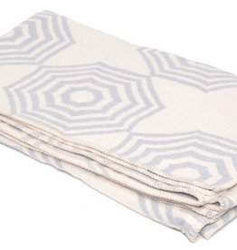 Atlantic Blankets Grey Parasol Throw 160 x 100cm