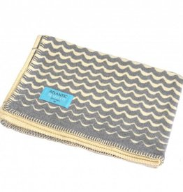 Atlantic Blankets Grey Swell Throw 160 x 100cm