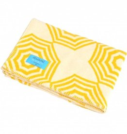 Atlantic Blankets Yellow Parasol Blanket 75x100cm