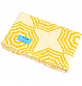 Yellow Parasol Blanket 75x100cm
