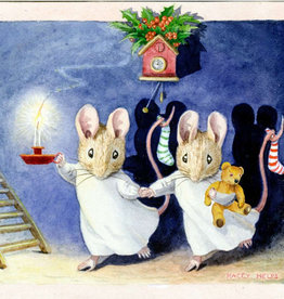 The Porch Fairies Christmas Eve Two Mice