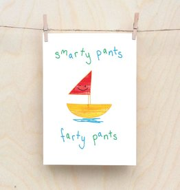 Objectables Smarty Pants card