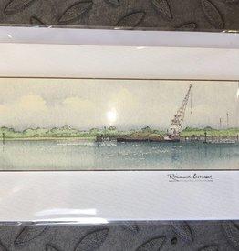 Richard Boswell Bedenham Pier card