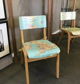 Pendil Design British Isles Map Chair