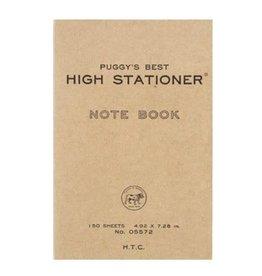 Hightide PUGGY'S PAPERBACK NOTEBOOK (RED)