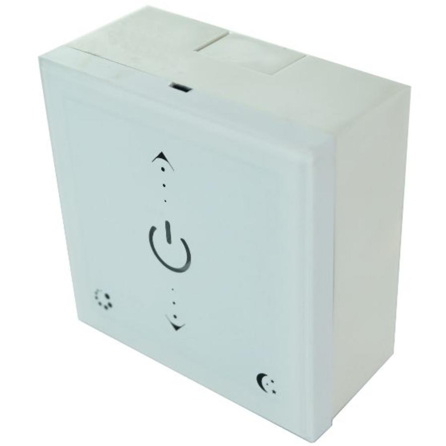 Wireless 2.4 GHz LED wall dimmer