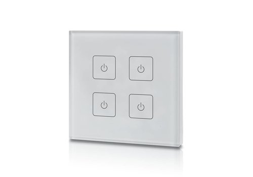 INTOLED 4-kanaals draadloze LED dimmer (Touch)