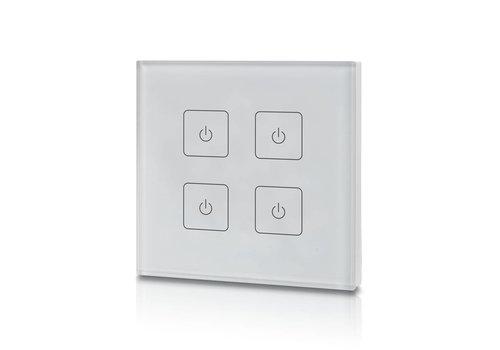 INTOLED LED Dimmer mit Funk und 4-Kanal Touchbedienung