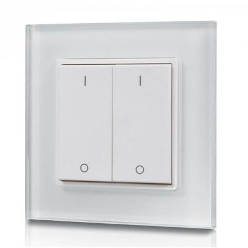 2-Kanal LED Wanddrucker mit Funksteuerung