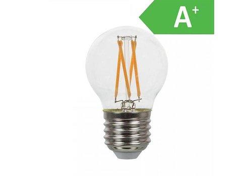 LED gloeilamp E27 2700K 4 Watt A+