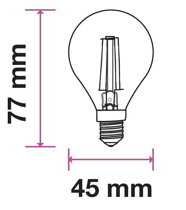 filament lamp diagram  the recommended caged filament lamp