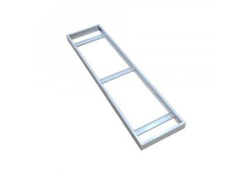 LED Paneel opbouw frame 30 x 120 cm kleur wit