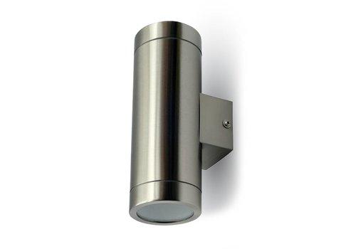 Outdoor lamp LED Wall Stainless steel GU10 IP44 Modern