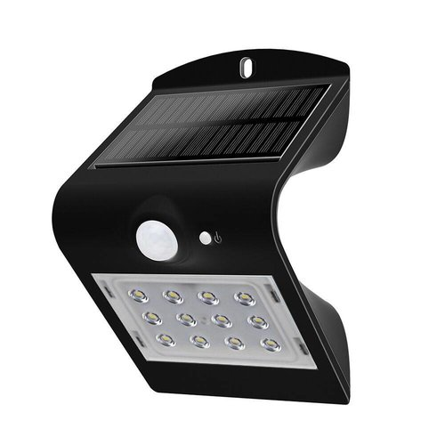 LED Solar Lamp 1.5W 4000K daglicht wit