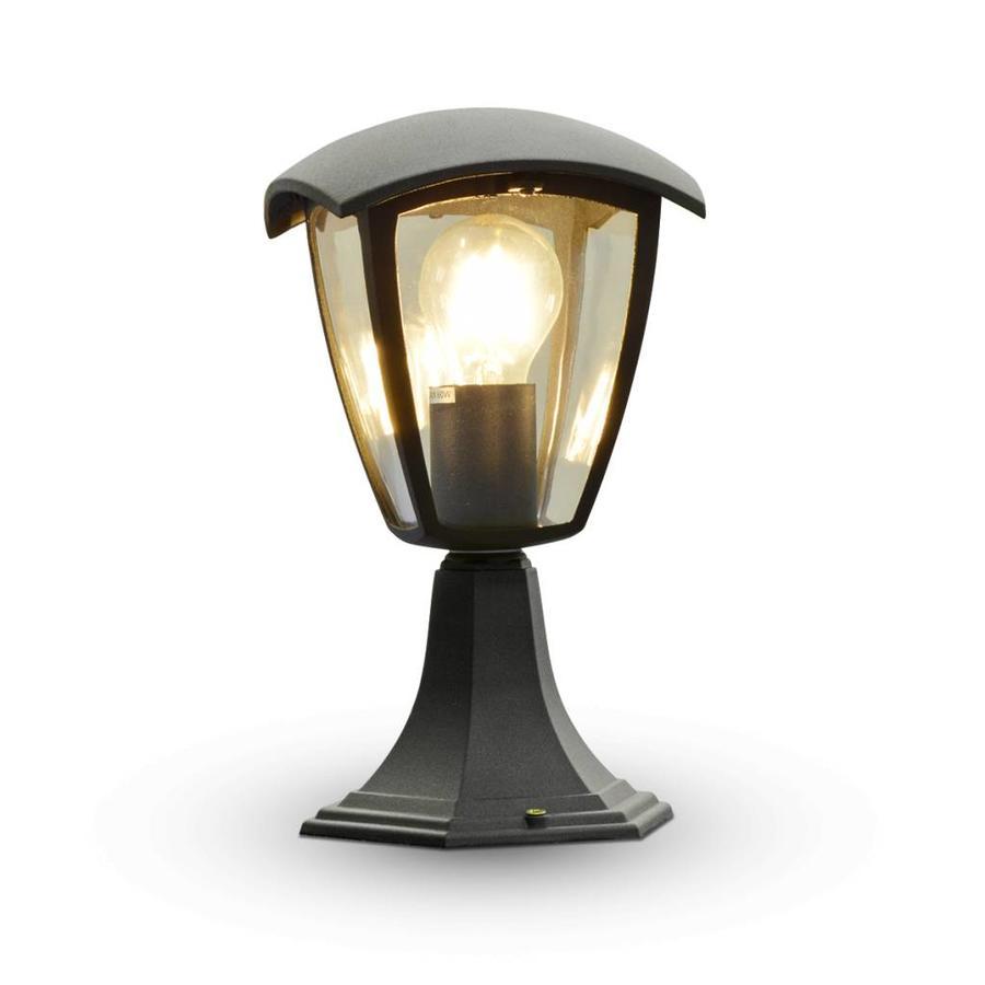 Gartenleuchte stehend LED Aluminium Quadrat IP44 E27
