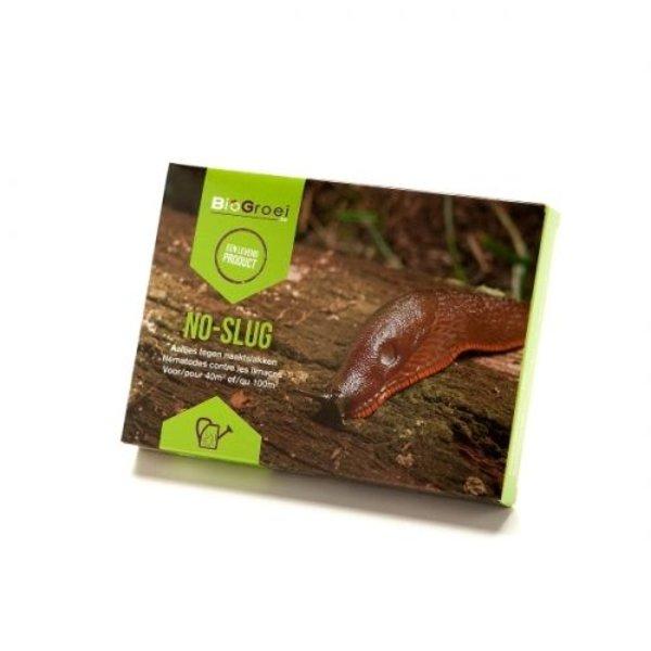 No-slug system Nematoden tegen slakken