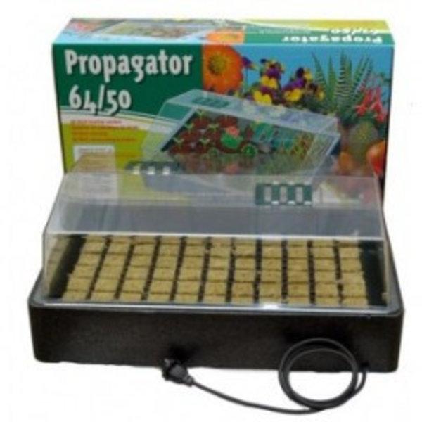 Propagator 64/50 met dimmer verwarmd.