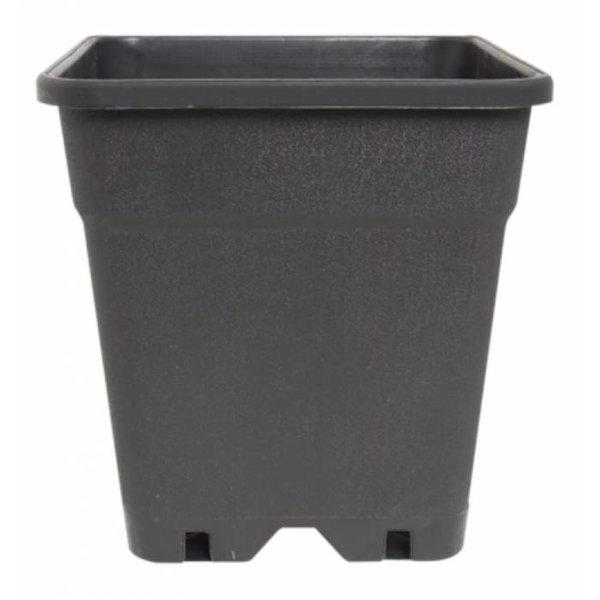 Vierkante pot 7 liter 20 cm