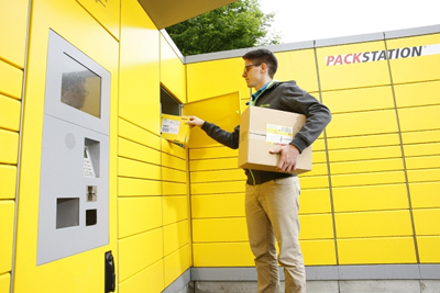 Parcel stations DHL by Raja Trading