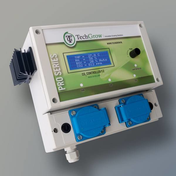 T-2 Pro CO2 Controller - 4.5A, 7A of 14A