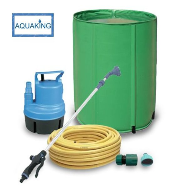 Bewateringsset met watervat 160 Liter