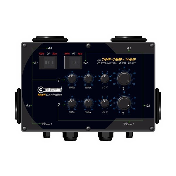 Multi Controller - 14A, 24A of 32A