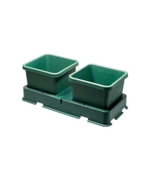 Autopot Easy2Grow 2 Potten Systeem Starter Set Met Vat
