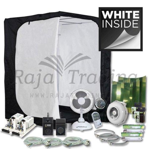 Ivory 150 Kweektent Compleet 2x 400 Watt 150x150x200