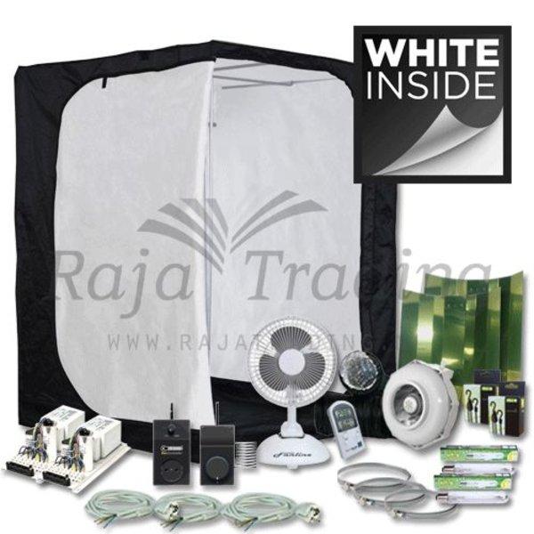 Ivory 150 Kweektent Compleet 2x 600 Watt 150x150x200
