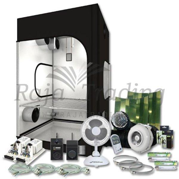 DR 150 Kweektent Compleet 2x 400 Watt 150x150x235