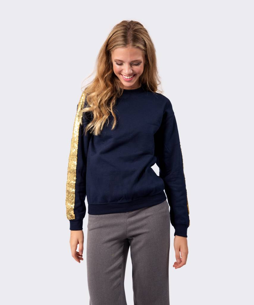 Blue And Gold Sweater