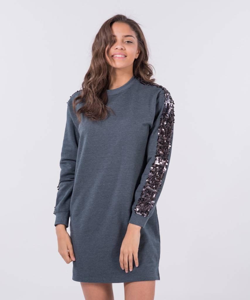 Sweater Dress Dark Grey Big Dark Grey 01dc931bb