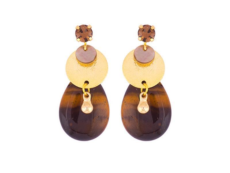 Earring Carob