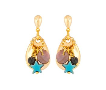 Earring Smoky Forest