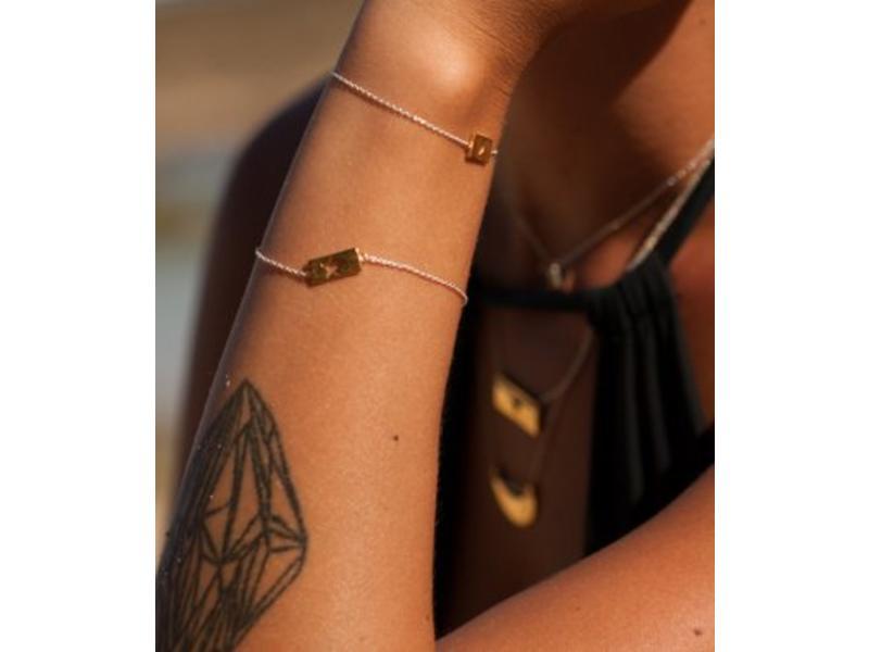 Armband Gold Bar - Star