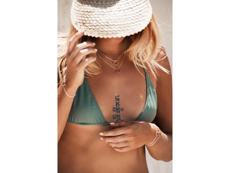 Necklace Delta Silver